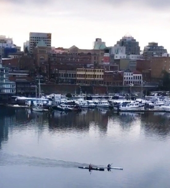 Harbour in Victoria B.C