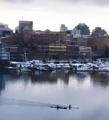 Harbour in Victoria B.C