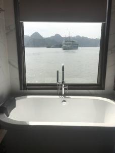 Vue du bateau - la salle de bain - Doris Cruise