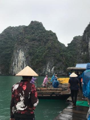 Les bateaux en bambou