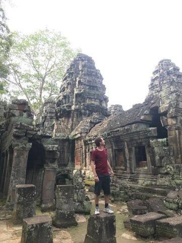 Les ruines du temple Banteay Kdei