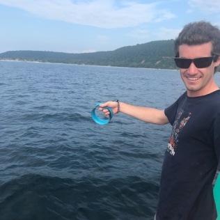 Canne à pêche rustique