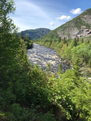 Parc des Hautes-Gorges - Le sentier Le Riverain